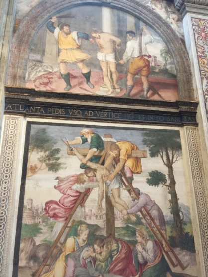 Detalles de frescos