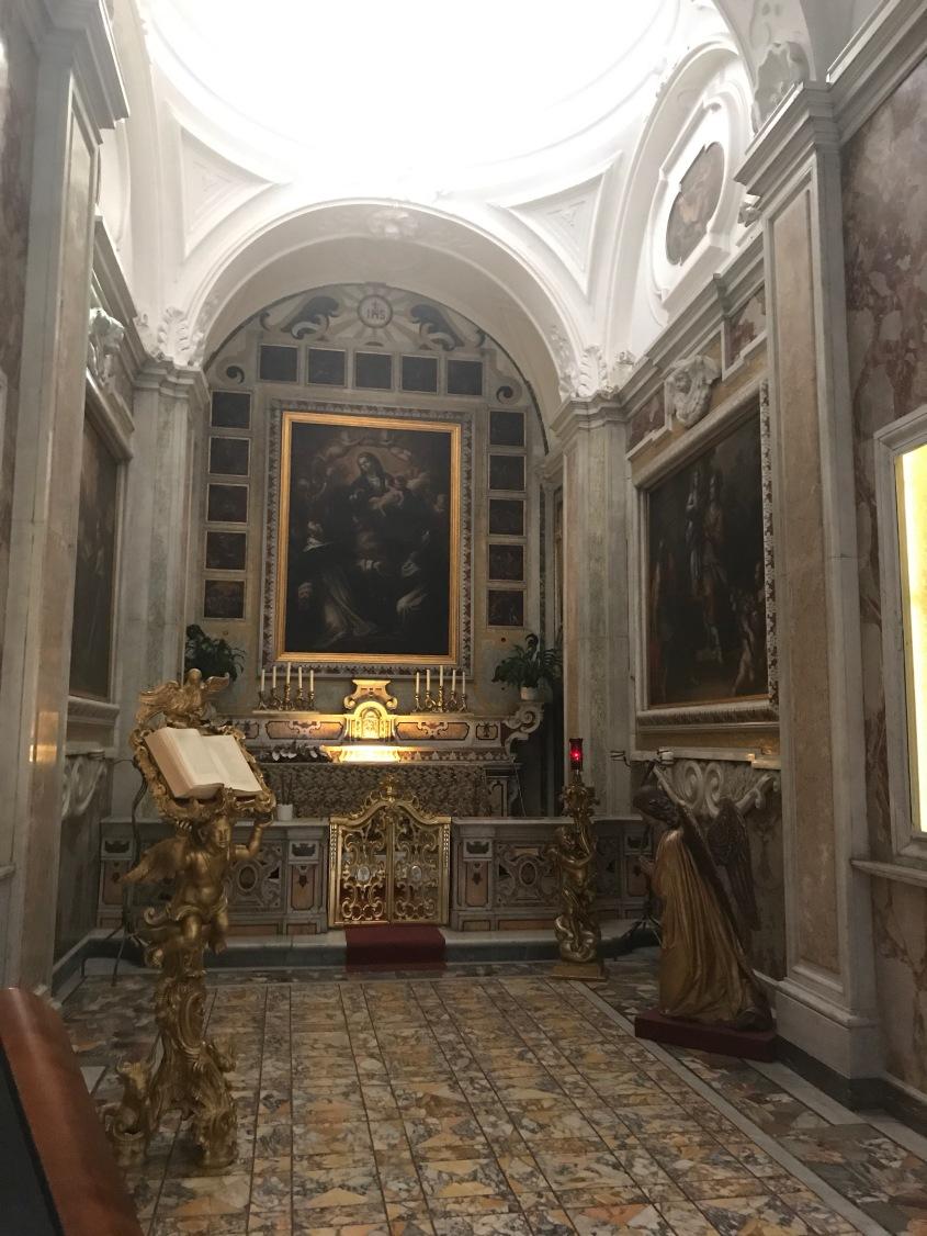 Vergine del Carmelo tra le anime del Purgatorio