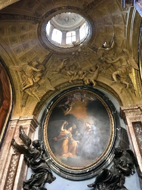 Capilla Realizada por Bernini